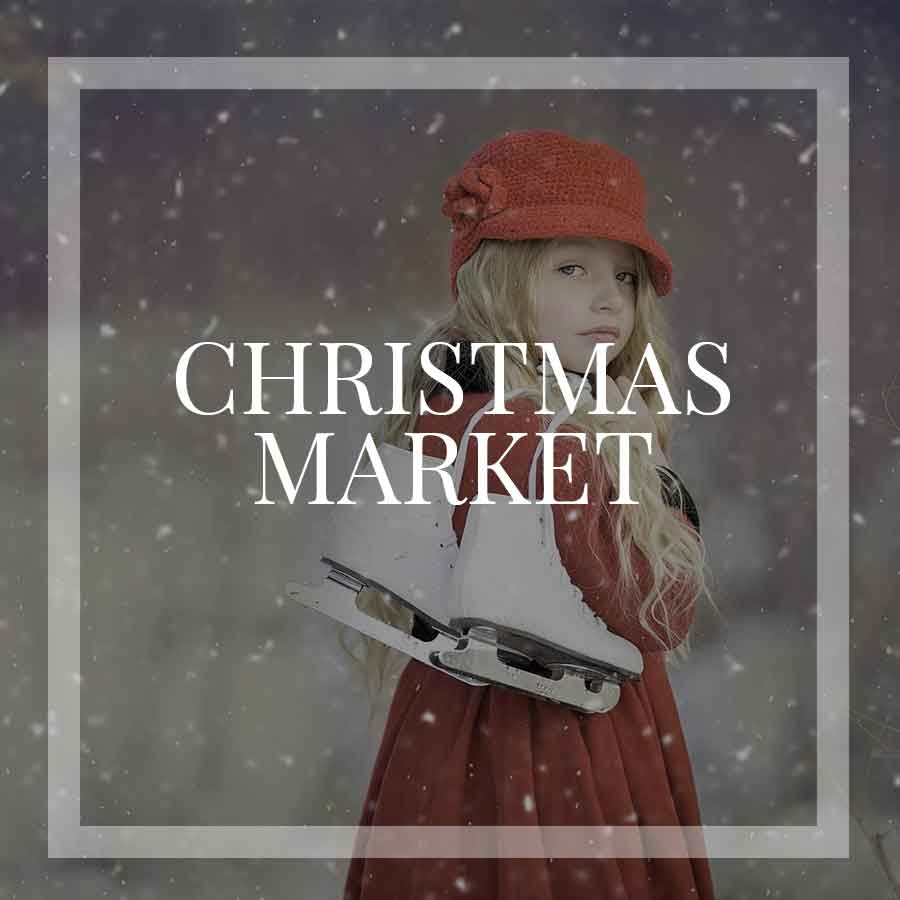 Vintage Christmas Market in the Mountains