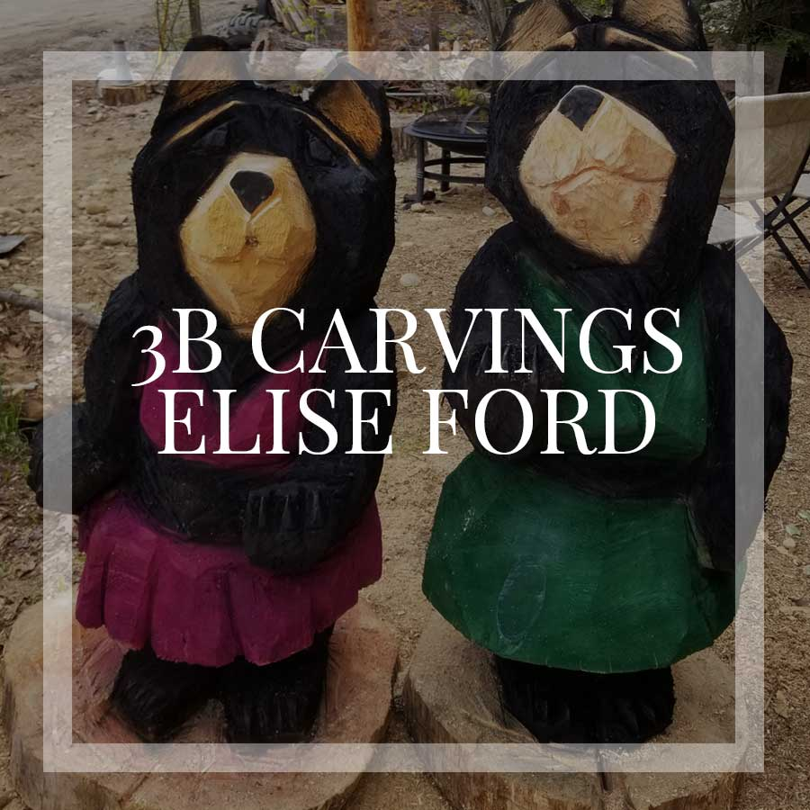 3B Carvings by Elise Ford